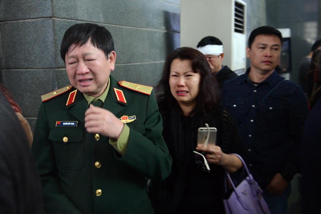 Những hình ảnh xúc động tại lễ tang nhạc sĩ Lương Minh - 5