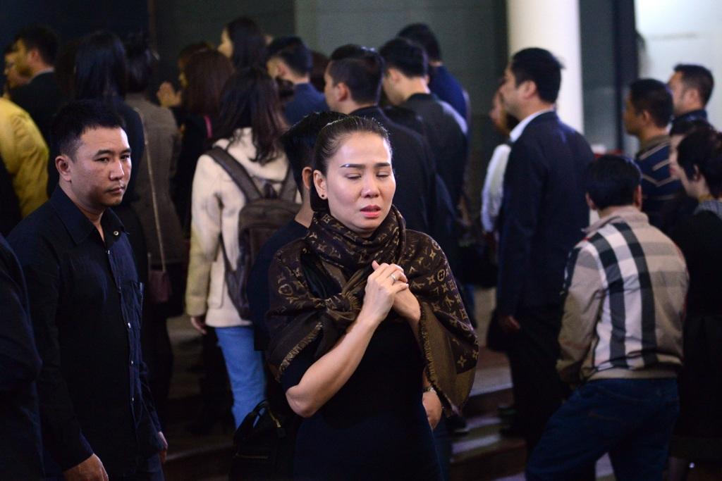 Những hình ảnh xúc động tại lễ tang nhạc sĩ Lương Minh - 13