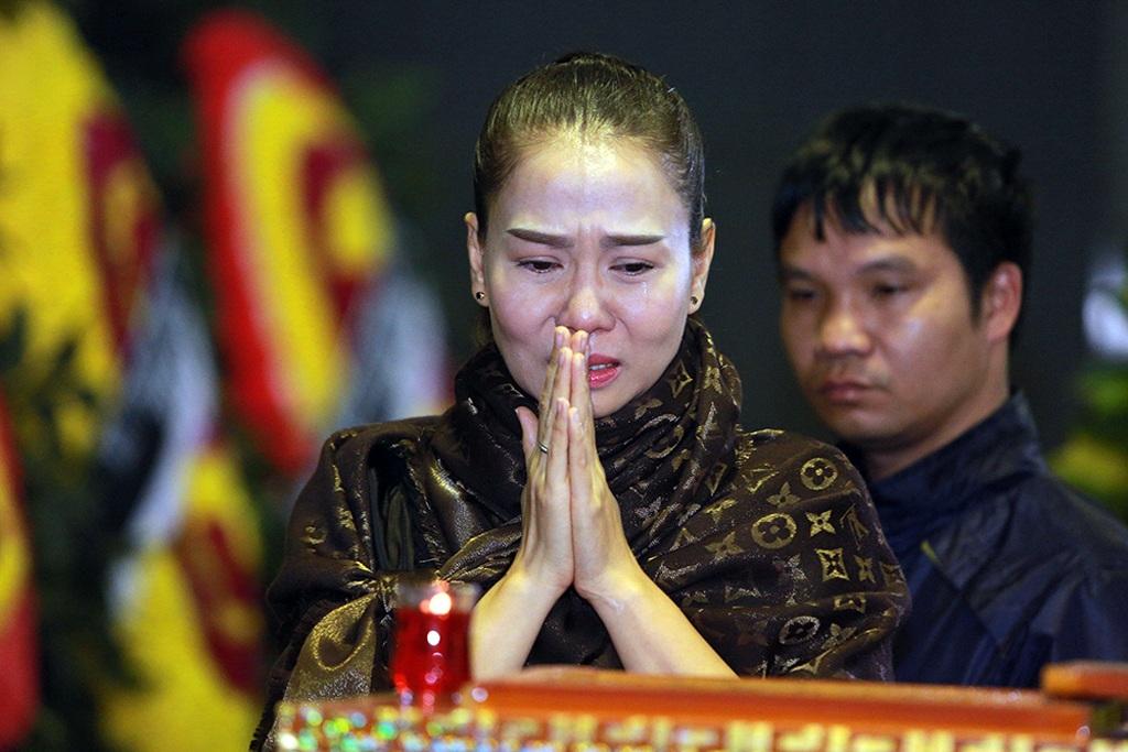 Những hình ảnh xúc động tại lễ tang nhạc sĩ Lương Minh - 14