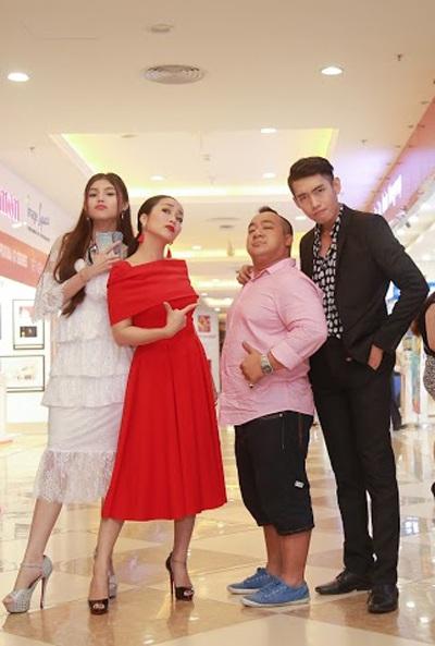 Ốc Thanh Vân chia sẻ nhiều kỷ niệm về đồng nghiệp khi tham gia bộ phim này.