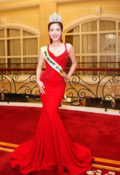 Nếu được cấp phép, Khánh Phương sẽ đại diện Việt Nam tham dự cuộc thi nhan sắc Hoa hậu Bikini Quốc tế 2016