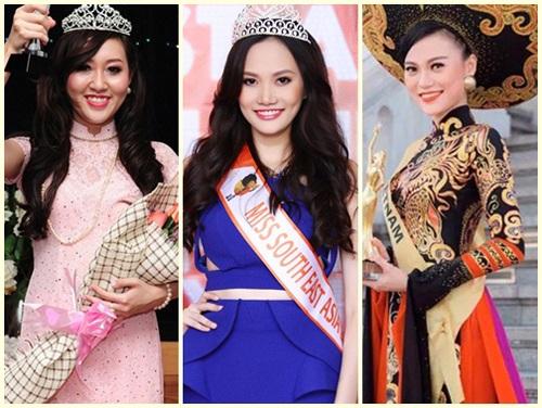 Trước đó, nhiều người đẹp cũng bị xử phạt vì thi chui như Huỳnh Thúy Anh, Diệu Linh, Cao Thùy Linh.