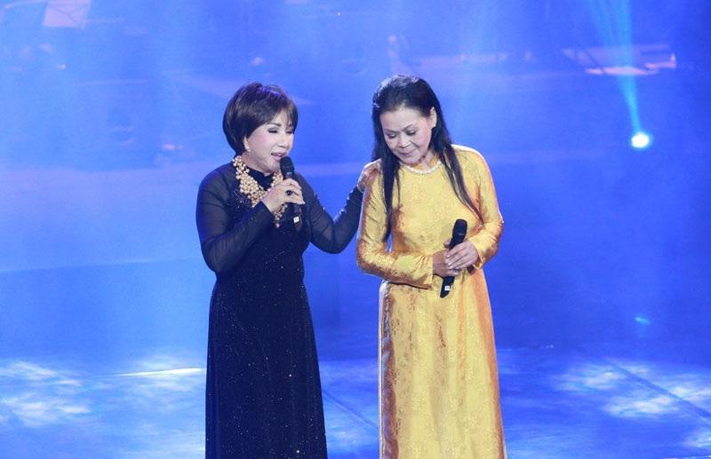 Hai nữ danh ca cùng song ca Nắng thủy tinh và Như cánh vạc bay. Chất giọng hòa quyện, đem lại sức hấp dẫn riêng với khán giả.