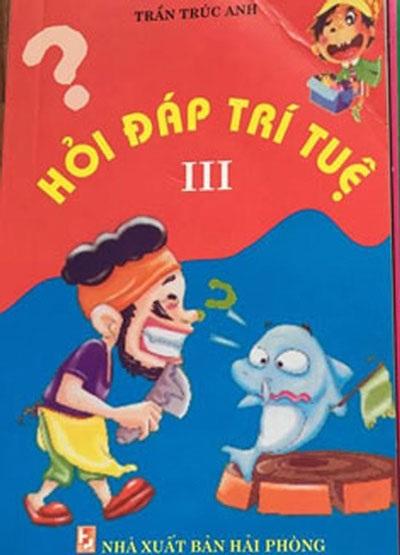 Bìa cuốn sách Hỏi đáp trí tuệ III