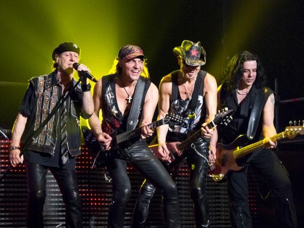 Scorpions, ban nhạc thành công nhất châu Âu sắp đến Việt Nam.