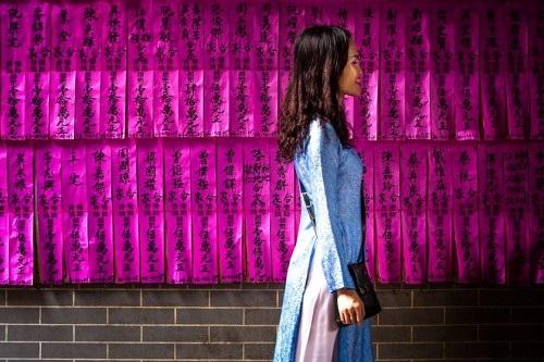 Ảnh chụp ở thành phố Hồ Chí Minh.
