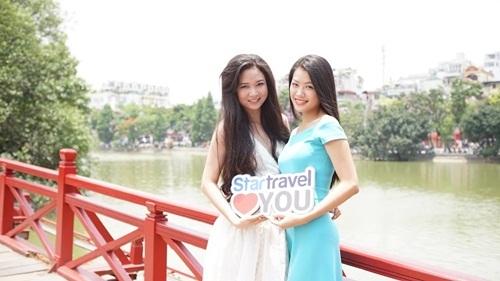 Ngắm dàn người đẹp Hoa hậu biển Việt Nam trải nghiệm city tour ở Hà Nội - 6