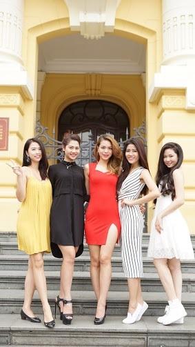 Ngắm dàn người đẹp Hoa hậu biển Việt Nam trải nghiệm city tour ở Hà Nội - 14