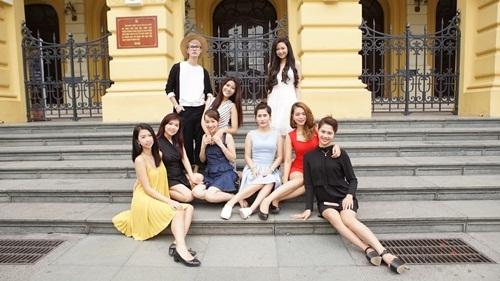 Ngắm dàn người đẹp Hoa hậu biển Việt Nam trải nghiệm city tour ở Hà Nội - 16