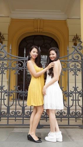 Ngắm dàn người đẹp Hoa hậu biển Việt Nam trải nghiệm city tour ở Hà Nội - 15