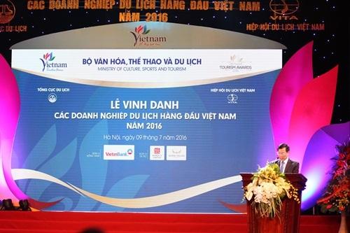 Ông Nguyễn Ngọc Thiện, Bộ trưởng Bộ VHTTDL phát biểu tại lễ kỷ niệm