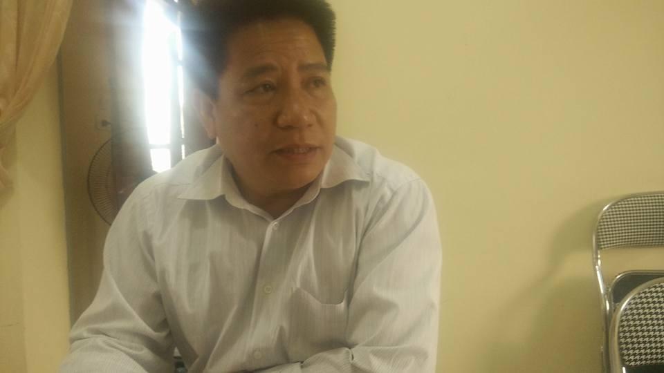 Ông Mạc Văn Lâm - GĐ Trung tâm Y tế dự phòng huyện Quế Phong.