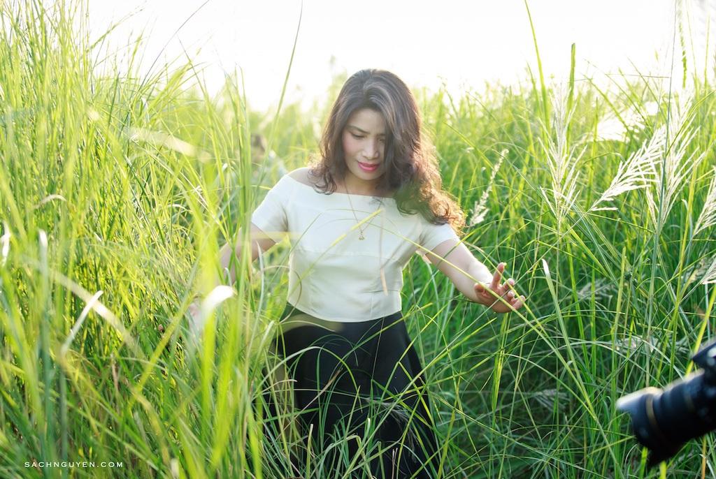 Chiêm ngưỡng cánh đồng cỏ lau trắng muốt bên dòng sông Lam - 11