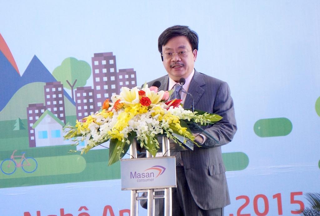 Ông Nguyễn Đăng Quang, Chủ tịch HTĐQ Tập đoàn Massan: Nghệ An đã tạo mọi điều kiện tốt nhất cho nhà đầu tư yên tâm đầu tư tại Nghệ An.