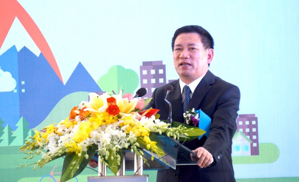 Ông Hồ Đức Phớc, Bí thư Tỉnh ủy đánh giá cao sự nỗ lực của chủ đầu tư trong việc đẩy nhanh tiến độ dự án, tỉnh Nghệ An đã thực hiện tất cả cam kết đối với nhà đầu tư một cách trách nhiệm cao nhất trong thời gian vừa qua.