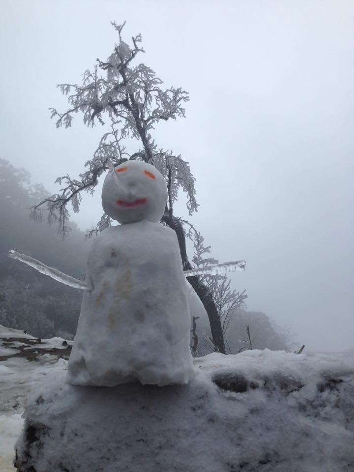 Nghệ An: Tuyết phủ dày hơn 30cm ở Buộc Mú - 3