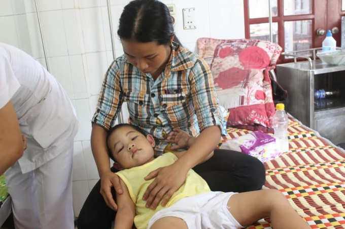 Khoảng 8h sáng ngày 14/4, khi cô giáo Phạm Thị Tuyết (46 tuổi) cùng hơn 20 em học sinh lớp mẫu giáo bé đang trong giờ học thì bất ngờ có một đàn ong rừng kéo vào trong lớp học và tấn công mọi người. Trong đó, có 17 em cùng cô giáo bị ong đốt phải nhập viện.