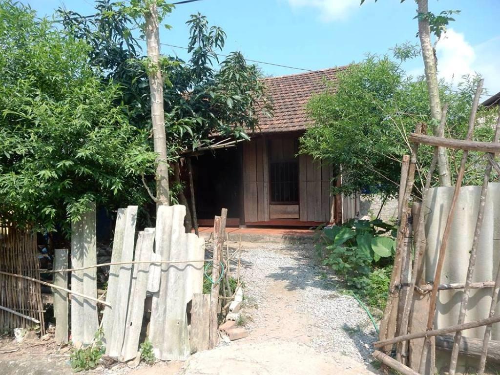 Căn nhà cháu Th. tại xã Châu Phong.