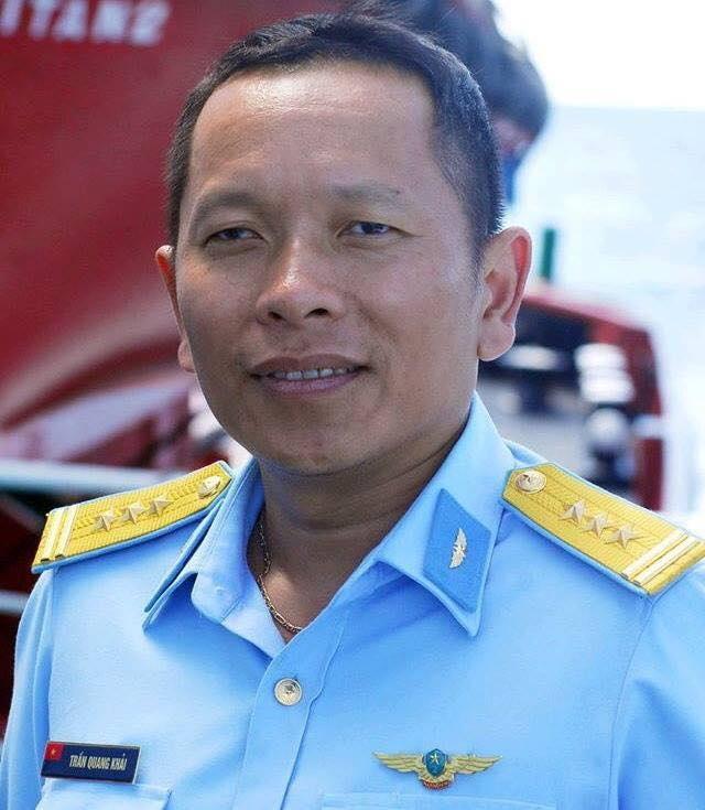 Thượng tá Trần Quang Khải (Ảnh: Trần Ngọc)