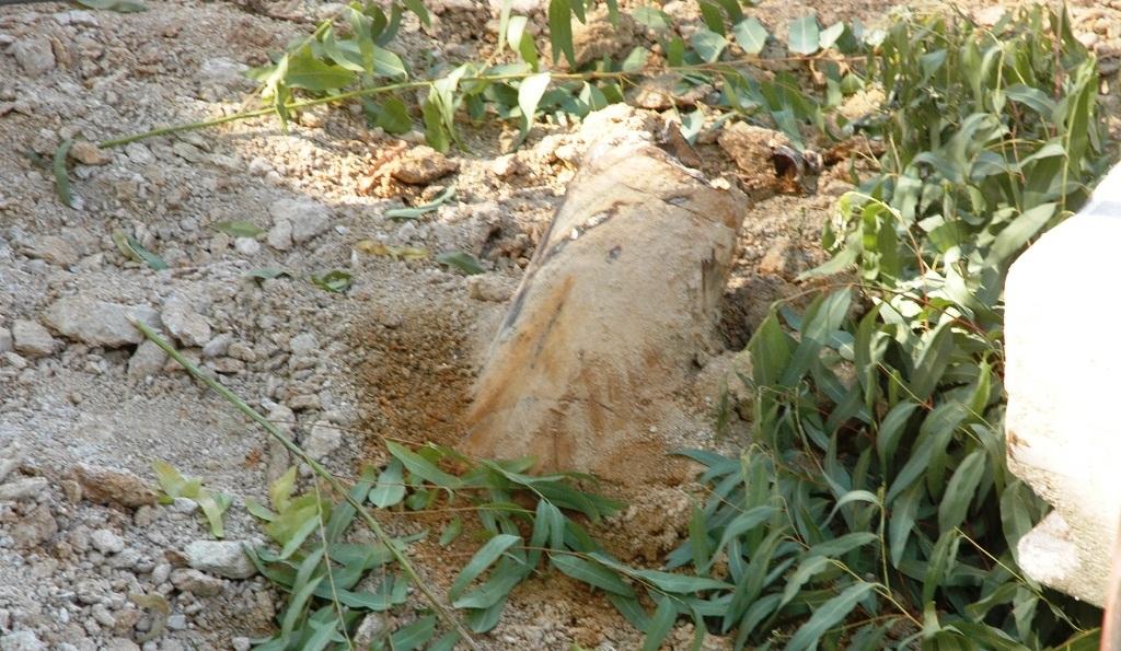 Quả bom được phát hiện vào ngày 18/6.