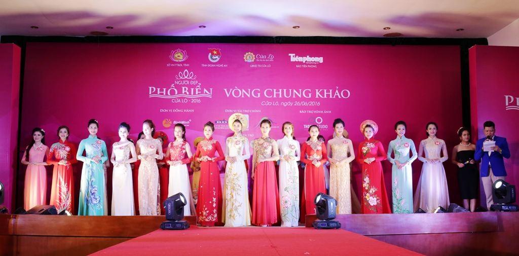 15 người đẹp được chọn ra cho đêm chung kết.