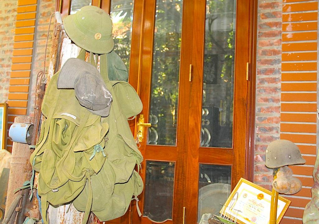 Người cựu chiến binh hơn 20 năm sưu tầm kỷ vật chiến tranh - 4
