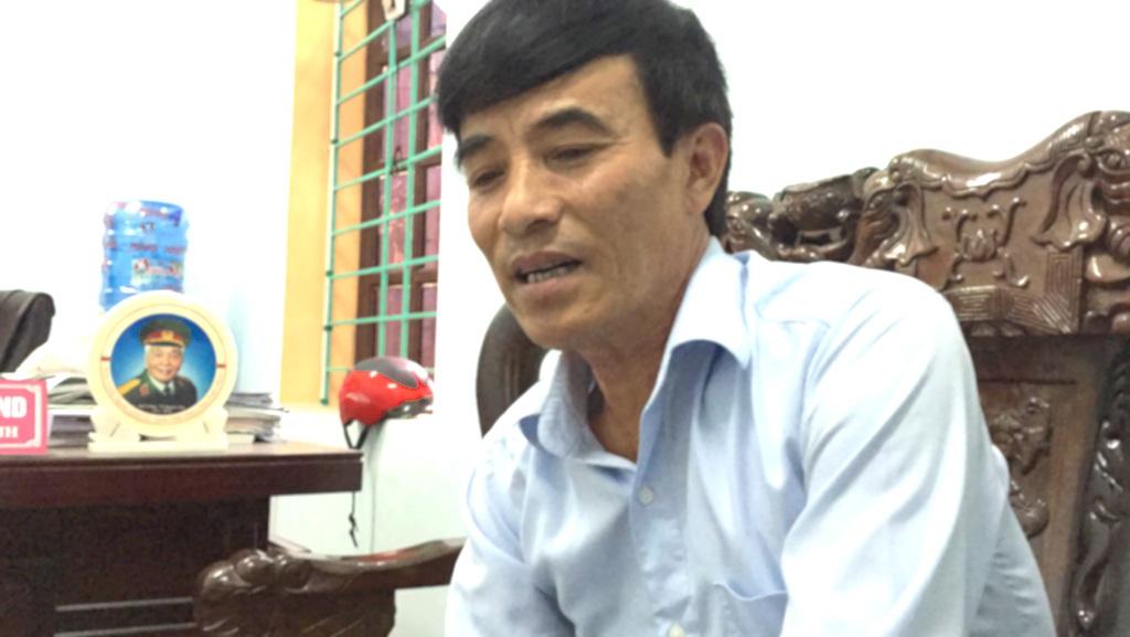 Ông Tăng Văn Thành - Chủ tịch UBND xã Diễn Hạnh cho biết, sắp tới sẽ tiến hành họp dân.