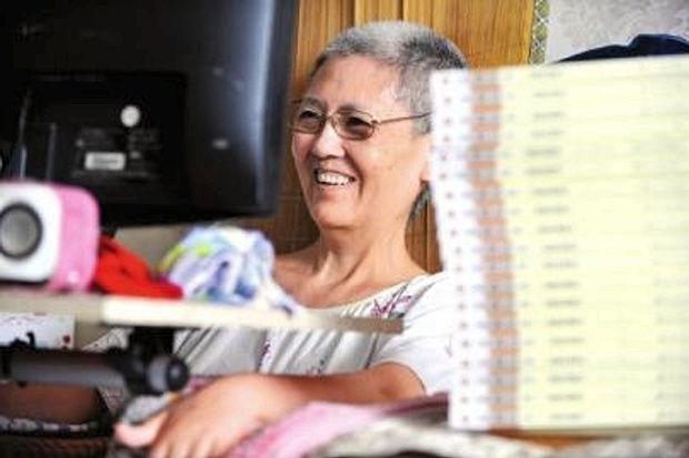 Bà Goong luôn muốn truyền cảm hứng sống của mình cho nhiều người khác
