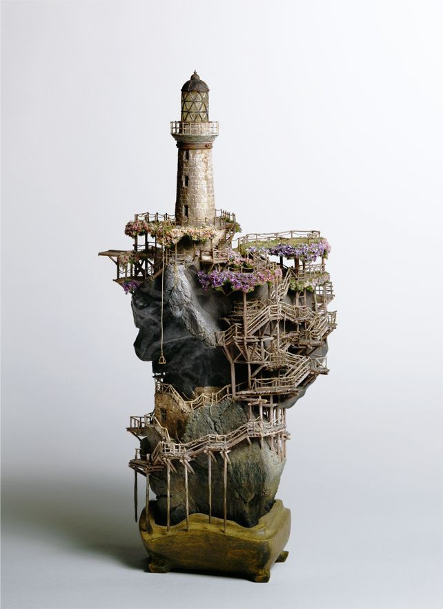 Những lâu đài bonsai tinh xảo - 1