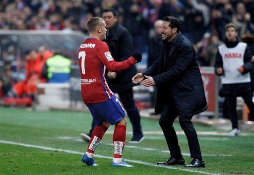 HLV Simeone muốn gắn bó lâu dài với đội chủ sân Vicente Calderon