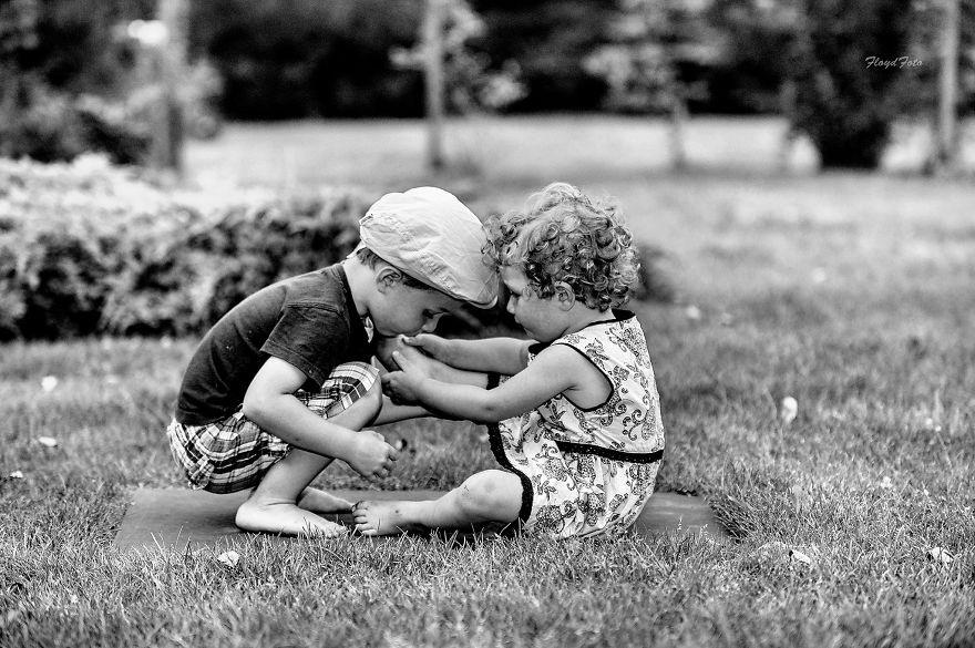 """Đáng yêu bộ ảnh """"Anh trai, em gái"""" - 7"""