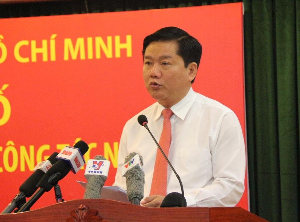 Bí thư Thành ủy TPHCM Đinh La Thăng yêu cầu chấm dứt ngay các hoạt động chúc tụng đầu năm, tập trung ngay vào công việc