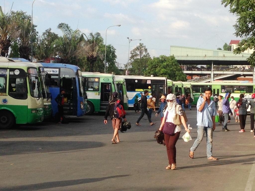TPHCM mở lại 2 tuyến xe buýt ở huyện Cần Giờ vào cuối tháng 4 năm nay (ảnh minh họa)