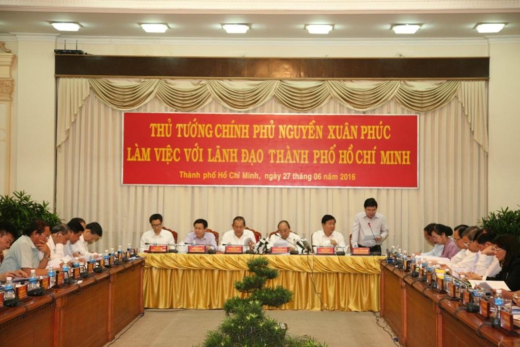 Chủ tịch UBND TP Nguyễn Thành Phong kiến nghị trung ương ưu tiên nguồn vốn ODA cho các dự án giao thông trọng điểm trên địa bàn thành phố