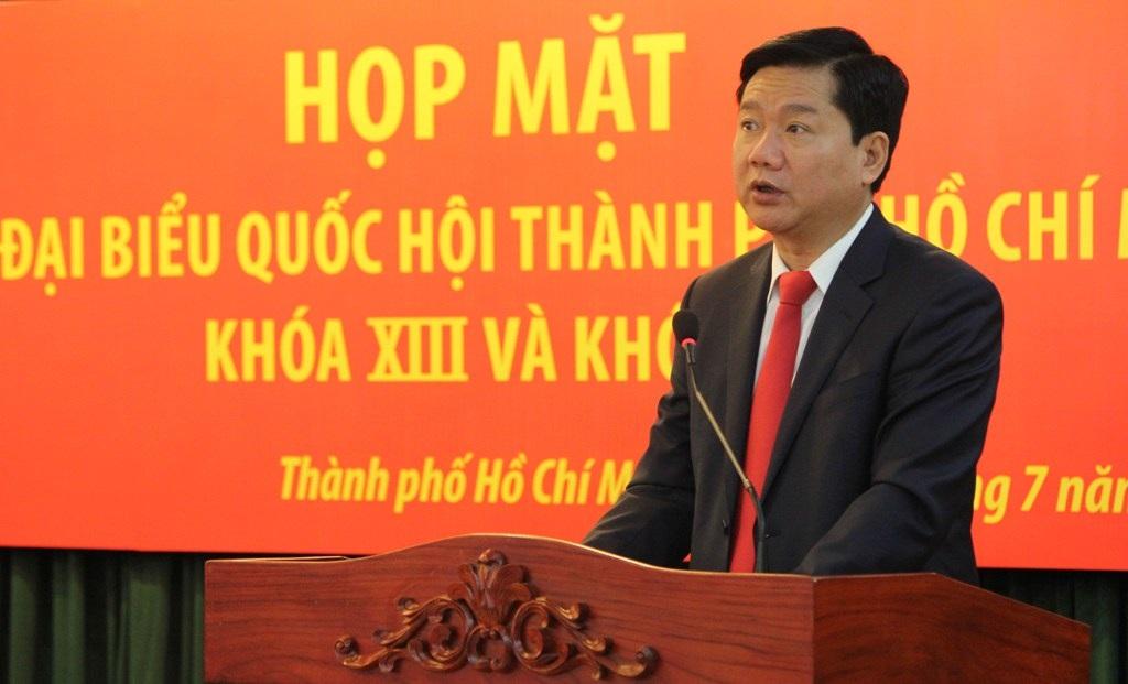 """Ủy viên Bộ Chính trị, Bí thư Thành ủy TPHCM Đinh La Thăng nhấn mạnh rằng ĐBQH thì không nên """"dĩ hòa vi quý"""""""