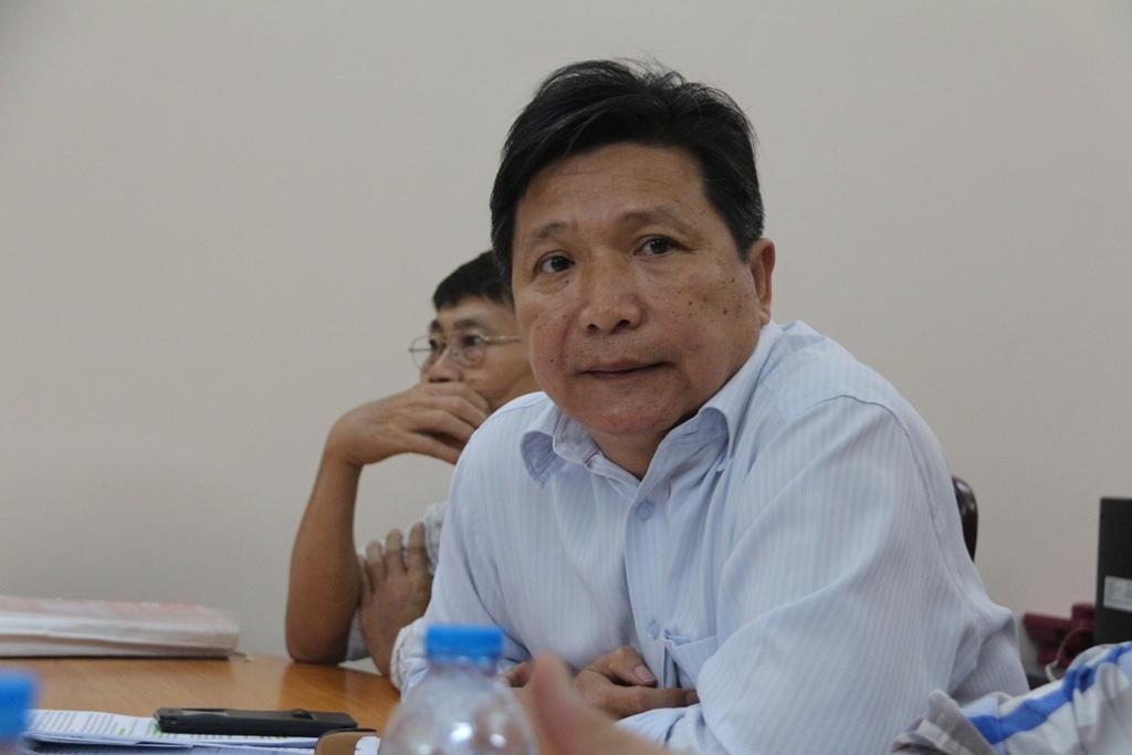 Phó Giám đốc Sở GTVT TP Lê Hoàng Minh cho biết Sở không thụ lý giải quyết đơn tố cáo Chánh Thanh tra nhũng nhiễu