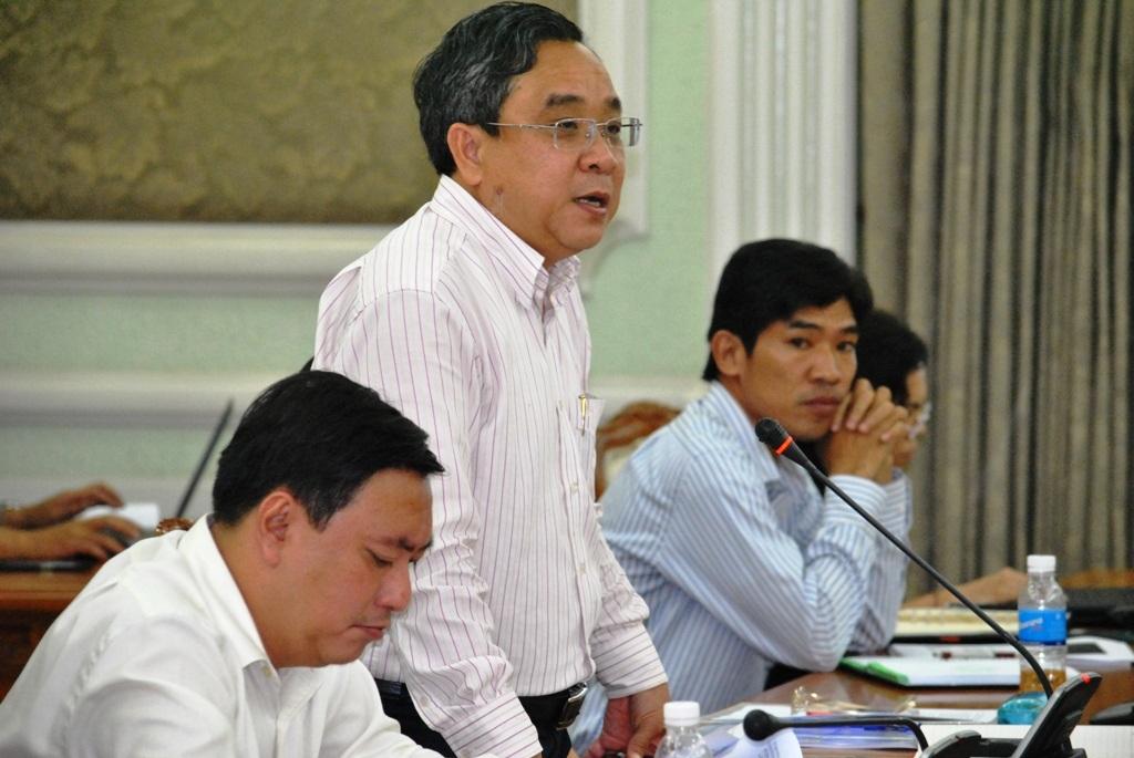 Phó Giám đốc Sở Công Thương Nguyễn Ngọc Hòa