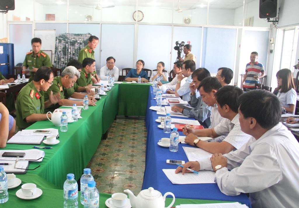 Thượng tá Cao Xuân Lợi cho rằng tội phạm về tham nhũng vẫn diễn ra phức tạp