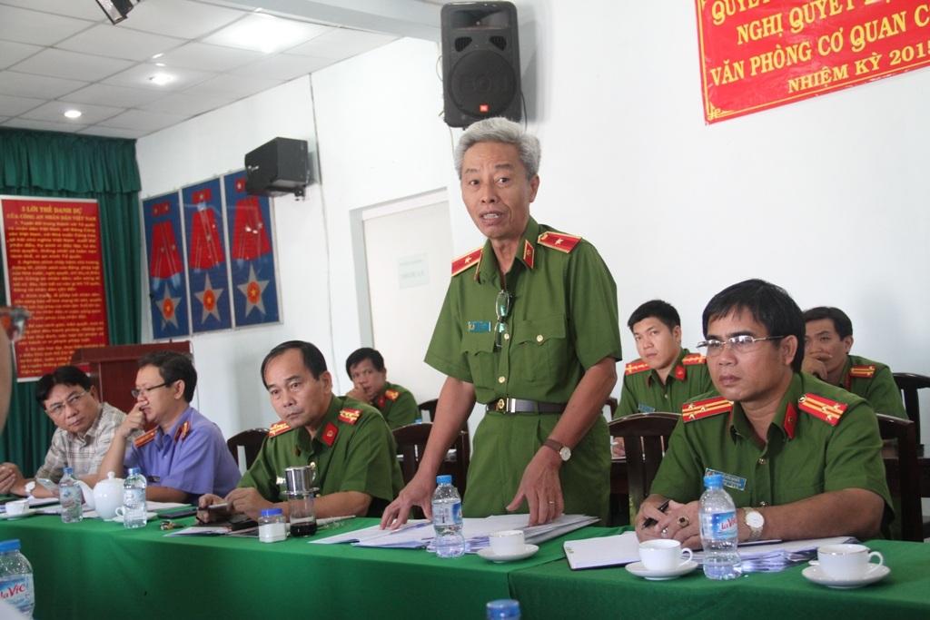 """Thiếu tướng Phan Anh Minh cho biết Công an TPHCM sẽ quyết tâm nâng cao tỷ lệ phá án """"trộm vặt""""."""
