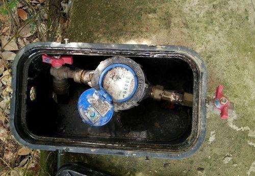 Được cấp đồng hồ nước tận nhà nhưng người dân ít sử dụng nên gây lãng phí (ảnh S.Đ)