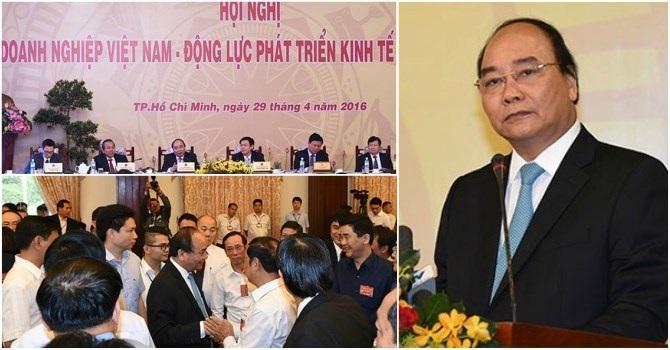 Ngay sau khi nhậm chức, Thủ tướng cùng các thành viên Chính phủ đã đối thoại và lắng nghe phản ánh, nguyện vọng của cộng đồng doanh nghiệp.