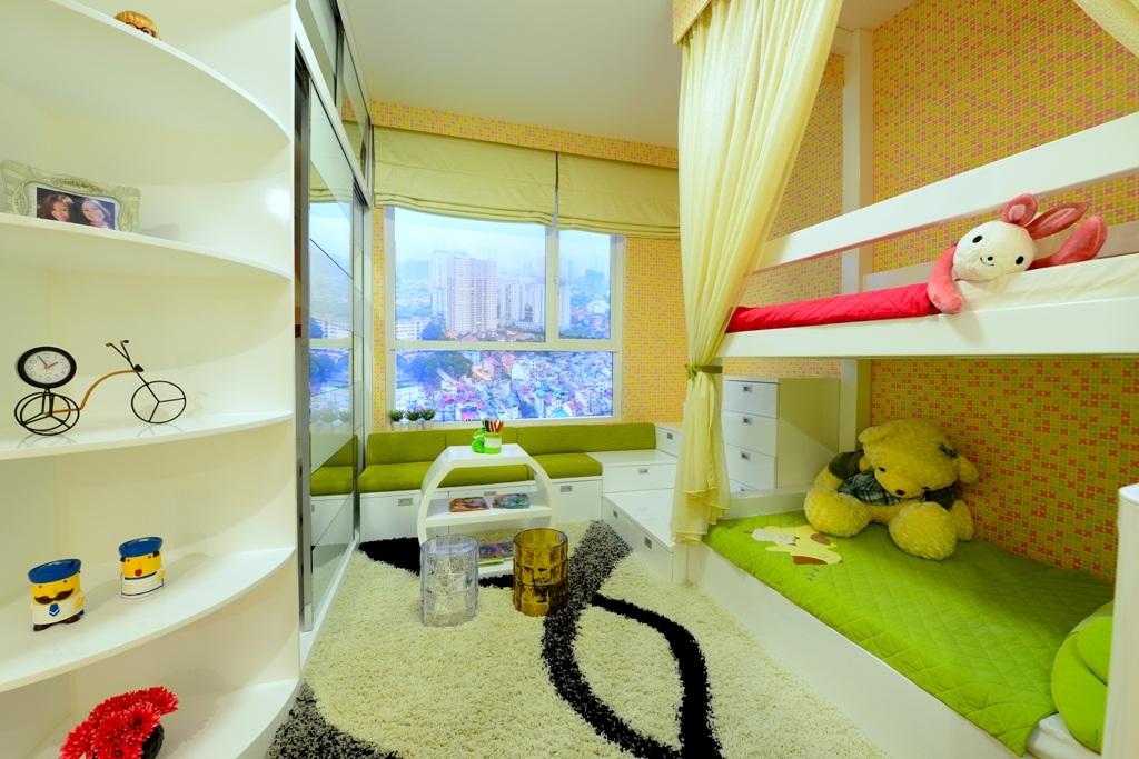 Bên trong phòng trẻ em của căn hộ 3 phòng ngủ. Nguồn ảnh: http://chungcuseasonsavenue.com/