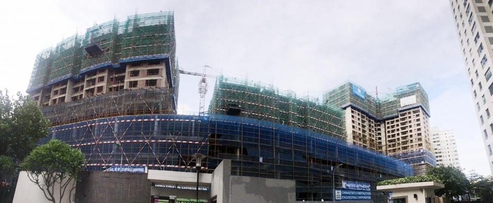 Tòa S1 dự kiến sẽ được bàn giao cho khách hàng vào cuối năm 2017.