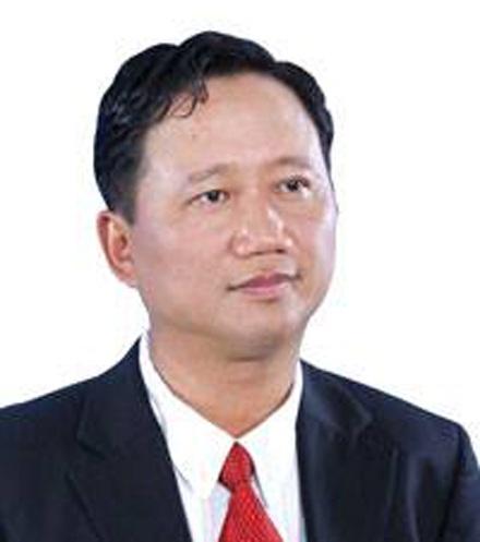 Bị can Trịnh Xuân Thanh, nguyên Chủ tịch PVC bị truy nã quốc tế.