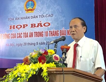 Ông Vũ Thế Đoàn, Phó Vụ trưởng Vụ I - TAND Tối cao cho biết, đang trong quá trình thương lượng với ông Trần Văn Thêm và ông Huỳnh Văn Nén về bồi thường oan sai.