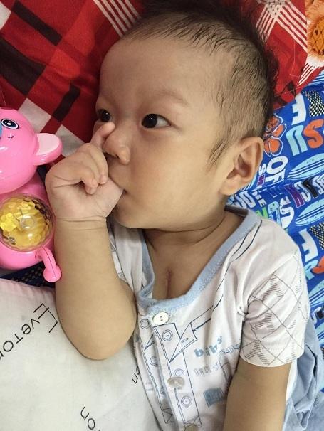 BS Đại đánh giá cao việc báo điện tử Dân trí giúp đỡ bé Đạt và nhiều bé khác trong khoa có tiền mổ tim.