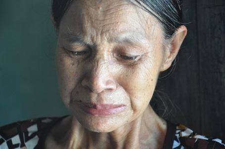 Bà nội của hai anh em đã già yếu và không có bất cứ thu nhập gì.