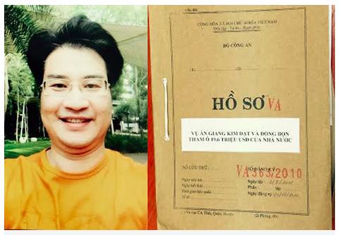 Giang Kim Đạt - nguyên quyền Trưởng phòng kinh doanh Công ty Vinashinlines (Ảnh: Bộ Công an).