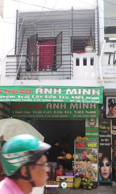 Căn nhà UBND TP.HCM chỉ đạo thu hồi của ông Trần Văn Truyền. (Ảnh: Quốc Anh).