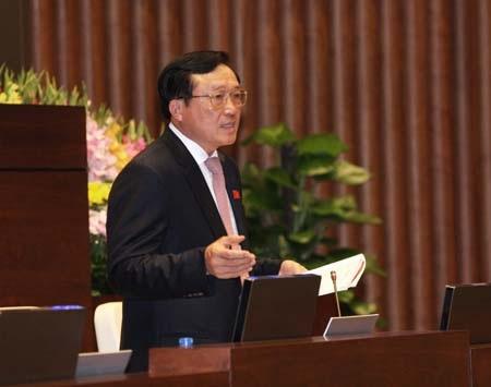 Viện trưởng VKSND Tối cao Nguyễn Hòa Bình.